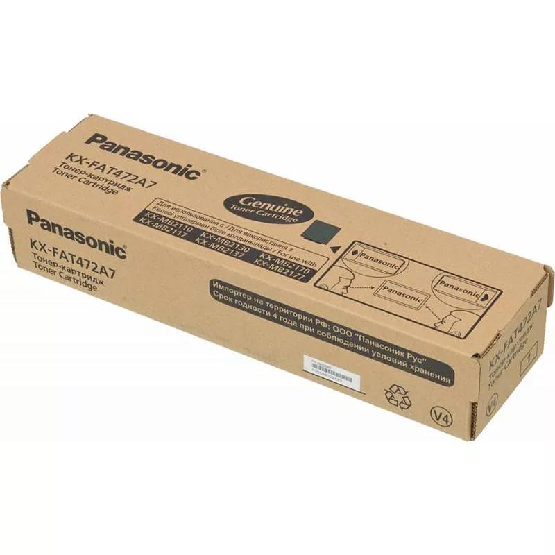 Заправка картриджа KX-FAT472A7 для Panasonic KX-MB2110