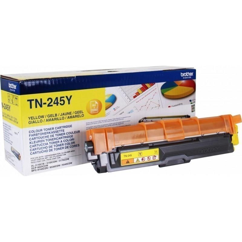 Заправка картриджа TN-245Y для Brother DCP-9020