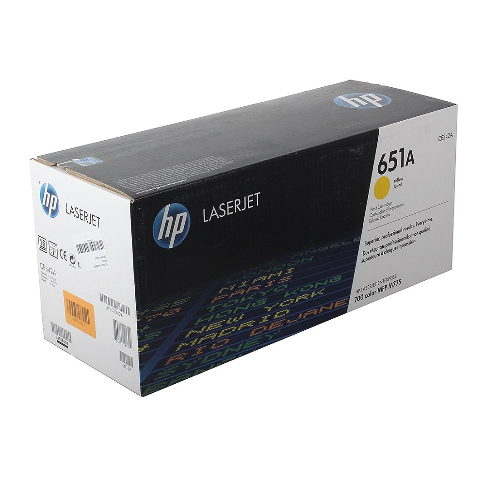 Заправка картриджа HP CE342A
