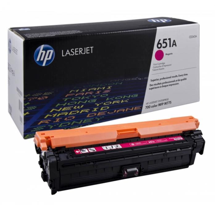 Заправка картриджа HP CE343A